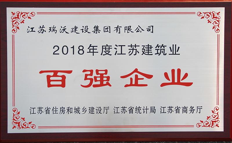 2018年度百强企业